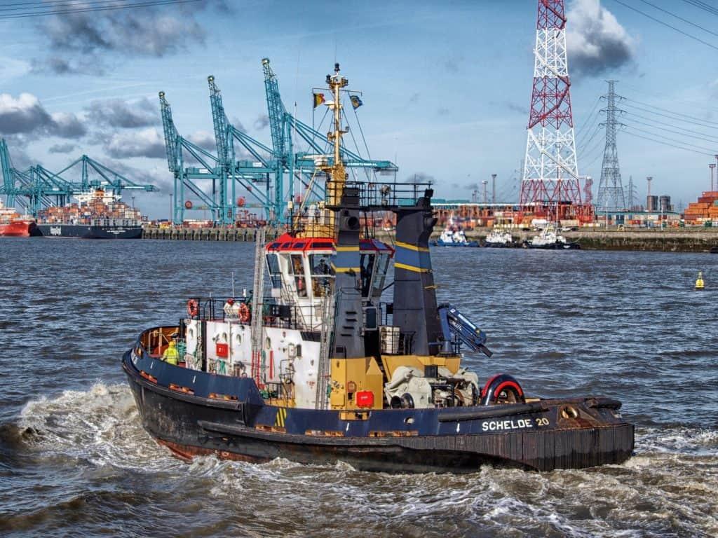 ship, seaport