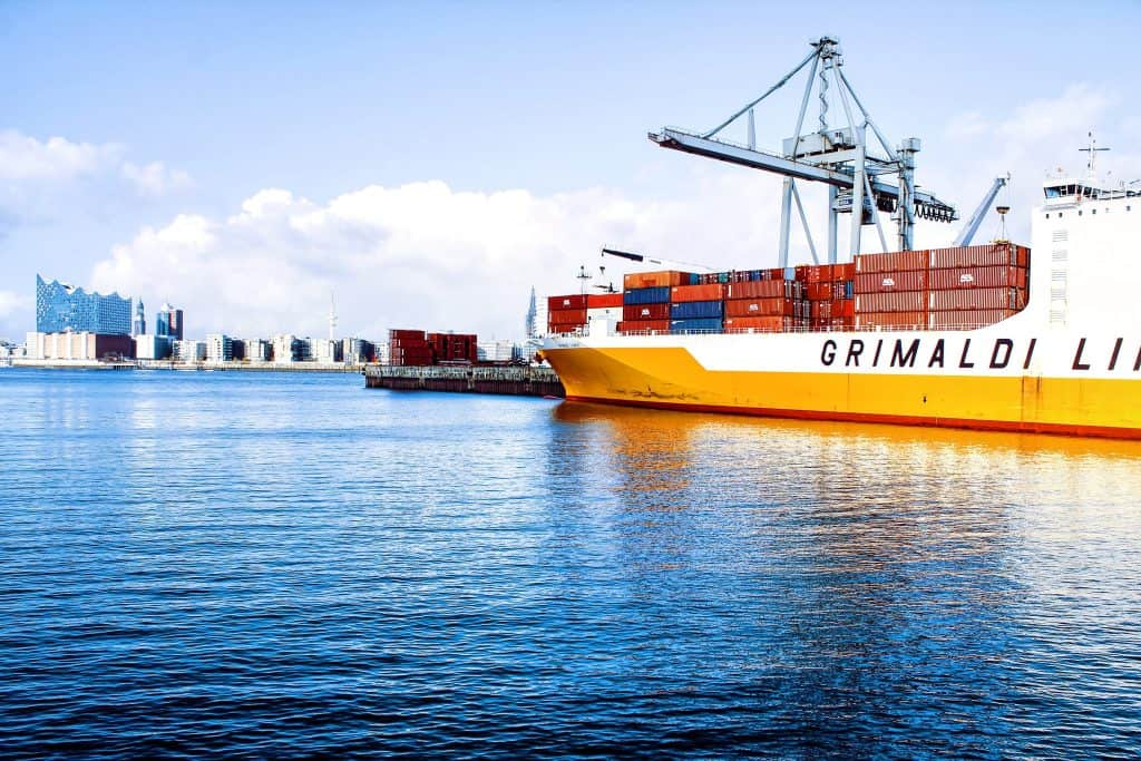 Container freight and maritime freight forwarding