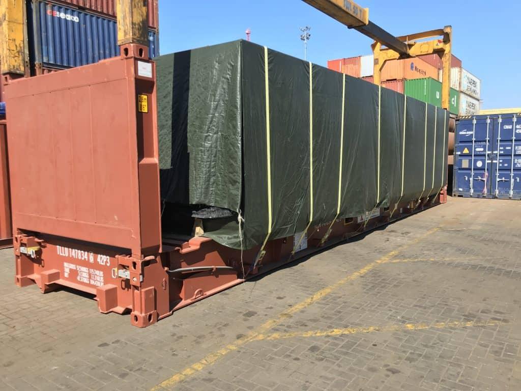 40'FR konteineris