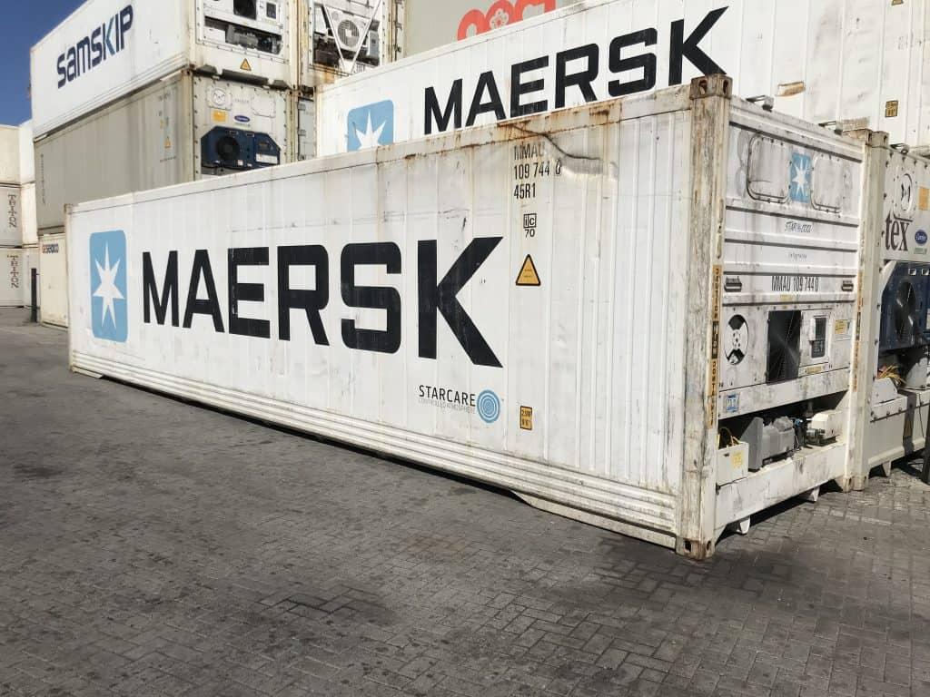 40'HCRF konteineris