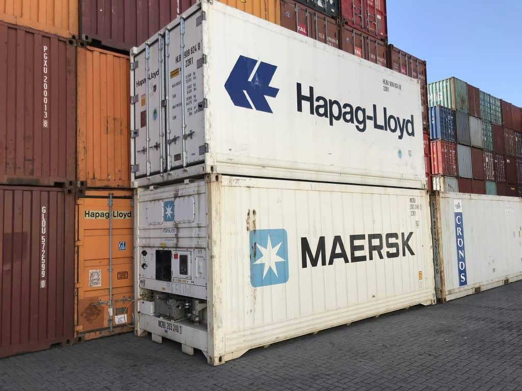 20'RF konteineris (refrižeratorius)