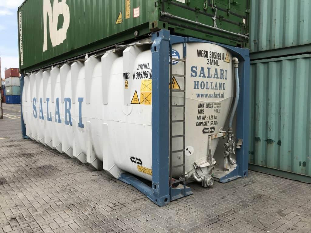 30'TC (cisterninis) konteineris
