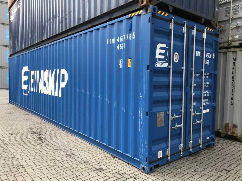 40'HCPW konteineris