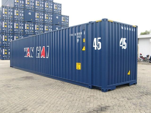 45'ST standartinis konteineris