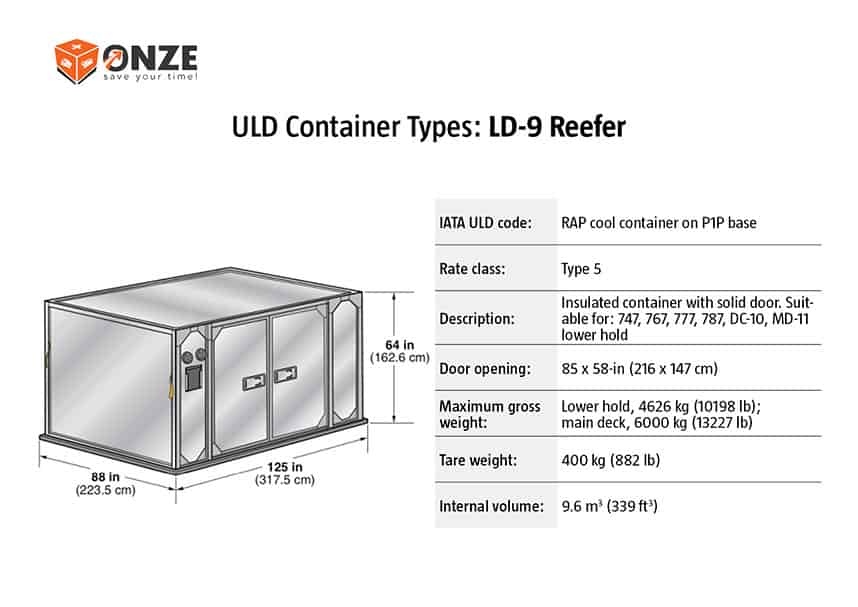 LD9 refrizeratorius