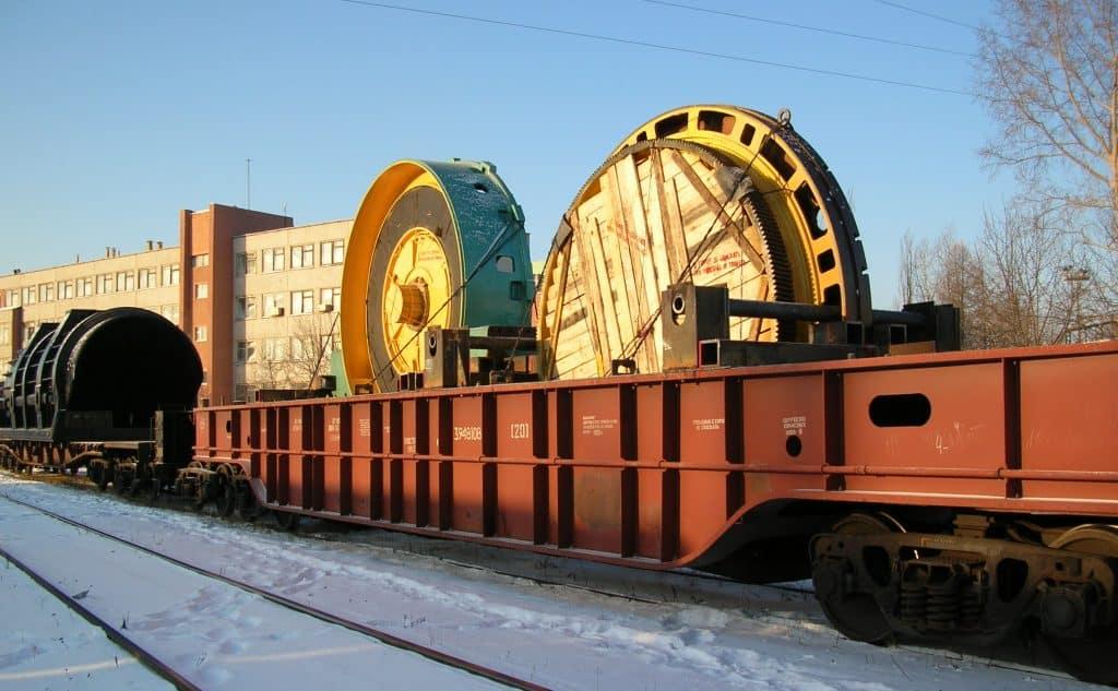 Geležinkelių transporto tvirtinimo schemos